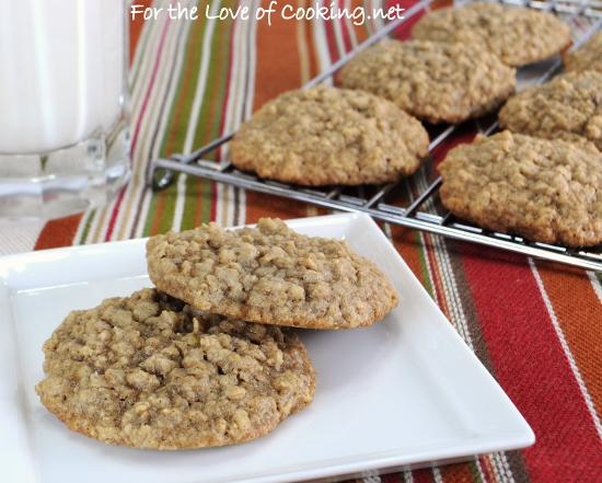 Maple-Cinnamon Oatmeal Cookies