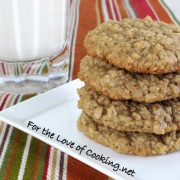 Maple-Cinnamon Oatmeal Cookies