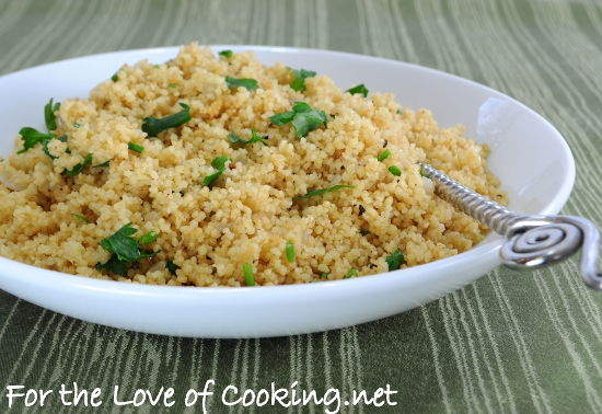 Herbed Couscous Pilaf | For the Love of Cooking