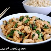 Spicy Basil Chicken