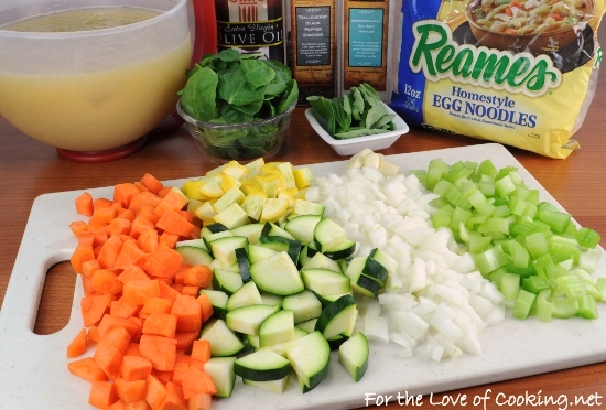 Vegetable noodle soup for the love of cooking for What vegetables to put in chicken noodle soup
