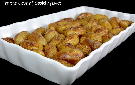 Sea Salt and Vinegar Roasted Baby Potatoes