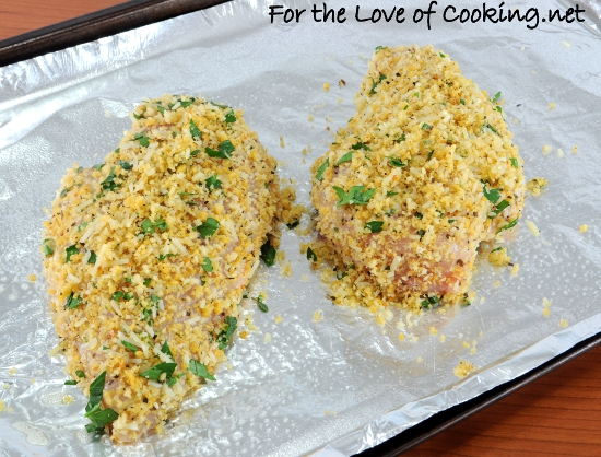 herb crusted chicken breast a mustard herb crusted mustard herb panko ...