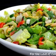 Mexican Chopped Salad with Cumin Vinaigrette