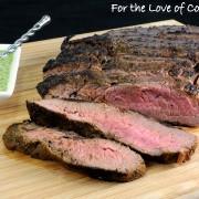 Cilantro-Lime Marinated Flank Steak