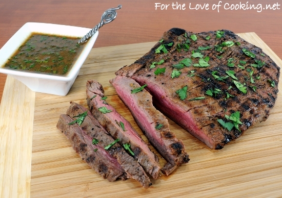 ... marinated flank steak with grilled onions pan grilled flank steak with