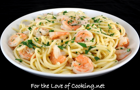 Chicken Shrimp Scampi