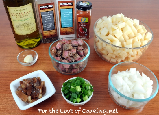 Steak Hash | For the Love of Cooking