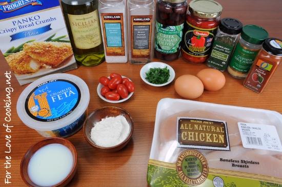 Greek Chicken Milanese