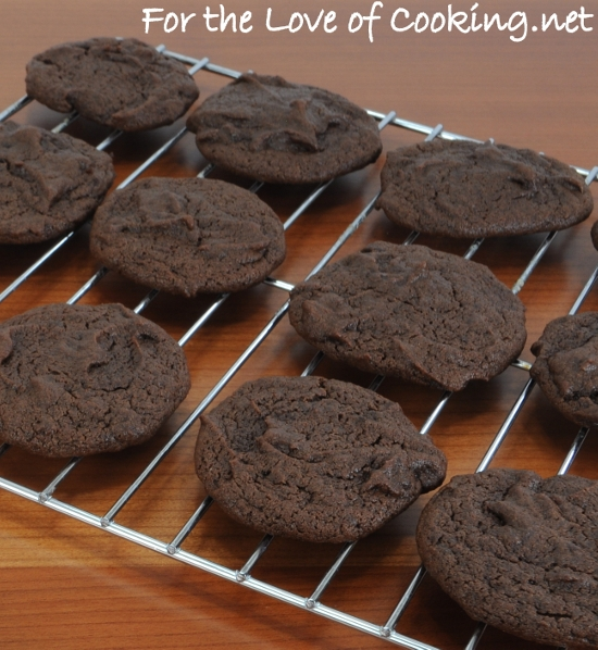 Cocoa Fudge Cookies