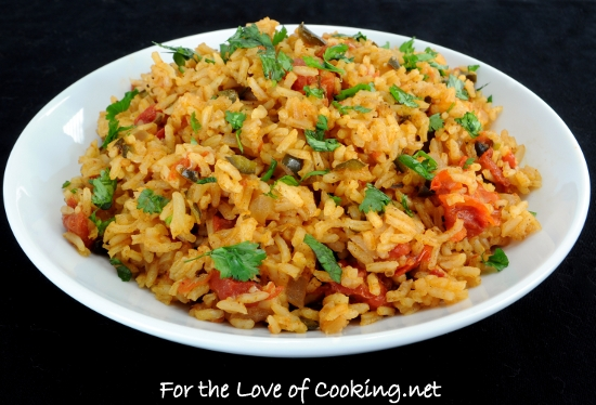 Southwestern Rice Pilaf | For the Love of Cooking