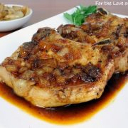 Pork Chops with a Maple Sauce