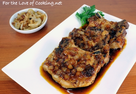 Pork Chops with a Maple Sauce | For the Love of Cooking