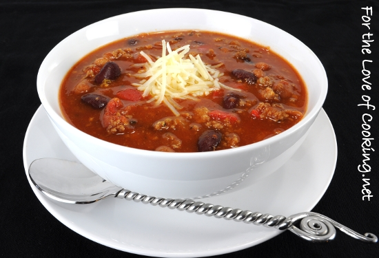 Italian Chili | For the Love of Cooking