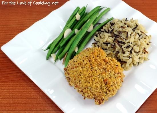 Oven-Fried Buttermilk-Mustard Chicken Thighs with Panko