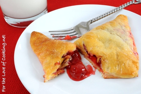 Quick Cherry Turnovers