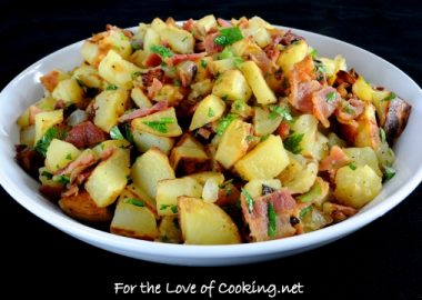German Roasted Potato Salad