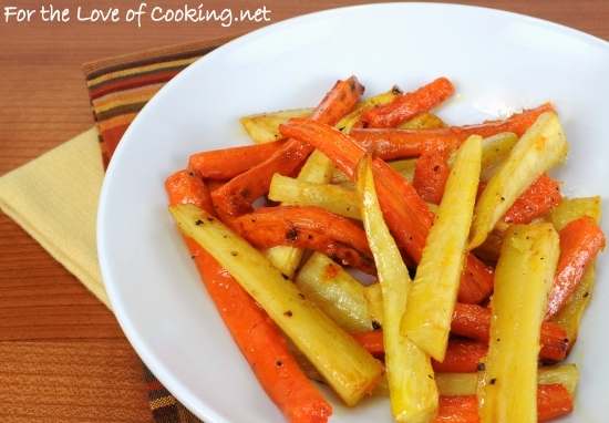 Roasted Carrots and Parsnips with Honey and Balsamic Vinegar | For the ...