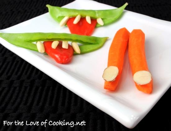 Halloween Fun ~ Creepy Smiles & Carrot Fingers