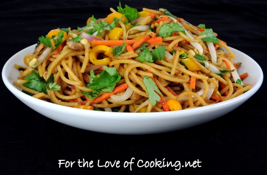 Vegetable Lo Mein For The Love Of Cooking
