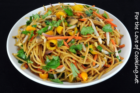 Vegetable Lo Mein | For the Love of Cooking