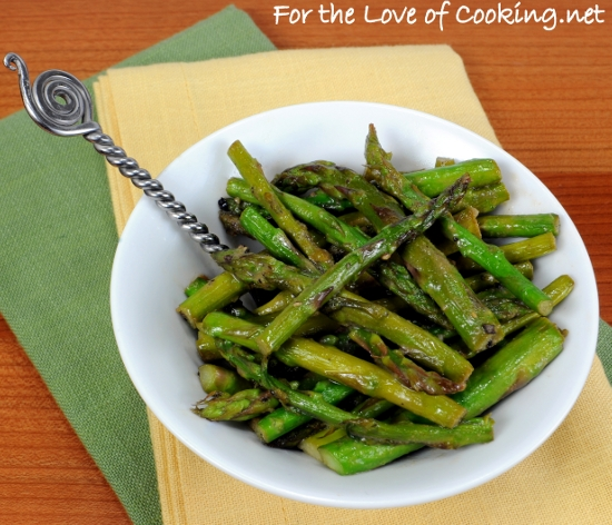 Sauteed Asparagus with Dijon Vinaigrette | For the Love of ...