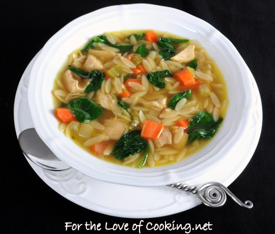 ... soup with sage yucatan style chicken lime and orzo soup turkey spinach