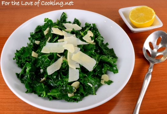 Lemon-Garlic Kale Sauté