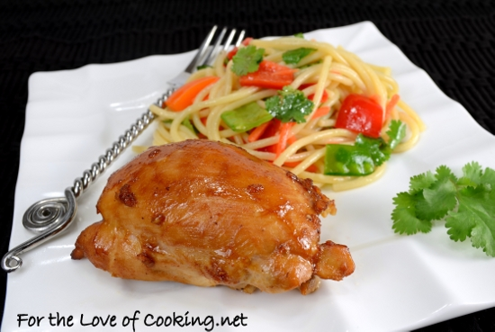 Asian-Glazed Chicken Thighs