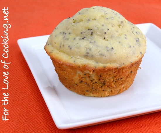 Blood Orange and Poppy Seed Muffins