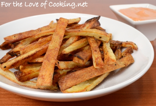 Oven Baked French Fries | For the Love of Cooking
