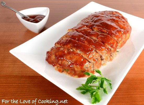 Turkey Meatloaf with Brown Sugar-Ketchup Glaze | For the Love of ...
