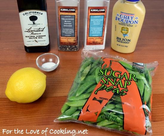 Lemony Sugar Snap Peas