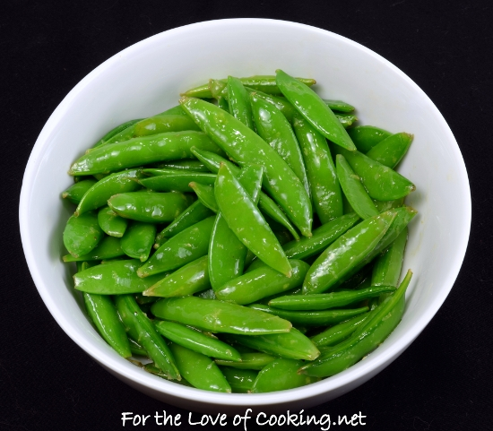 Lemony Sugar Snap Peas