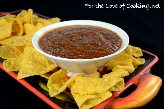 Spicy Fire Roasted Salsa