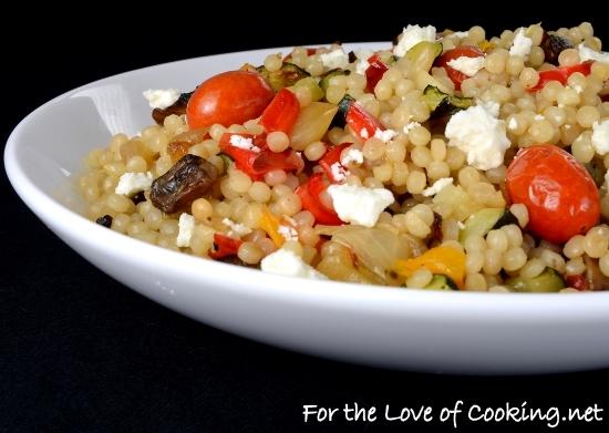 Roasted Vegetable Israeli Couscous