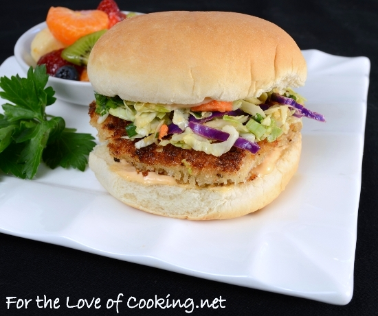 Asian Chicken Sandwich | For the Love of Cooking