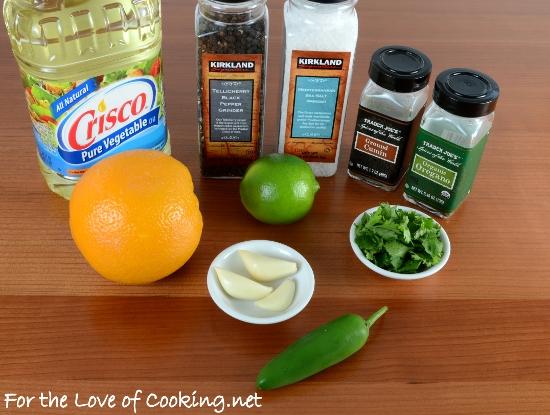 Citrus-Garlic Flank Steak