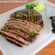 Citrus-Garlic Flank Steak