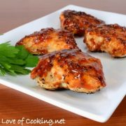 Dry-Rub Chicken with Honey Barbecue Sauce
