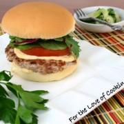 Asian Turkey Burgers with Avocado and Sriracha Lime Mayonnaise