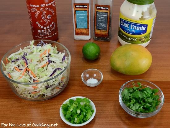 Spicy Mango Coleslaw