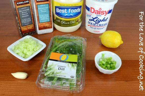 Creamy Cucumber Dill Sauce