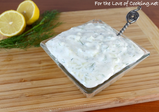 Ina Garten Tzatziki tzatziki sauce | for the love of cooking