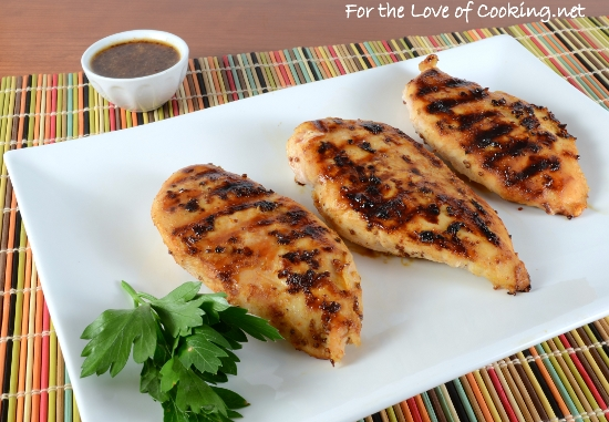 Grilled Honey Mustard Chicken Breasts | For the Love of ...
