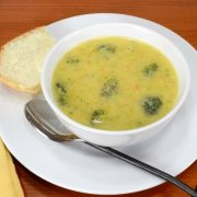 Broccoli, Cheese, and Potato Soup