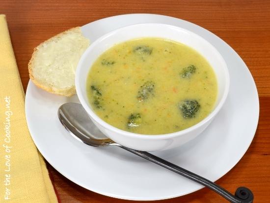 Broccoli, Cheese, and Potato Soup