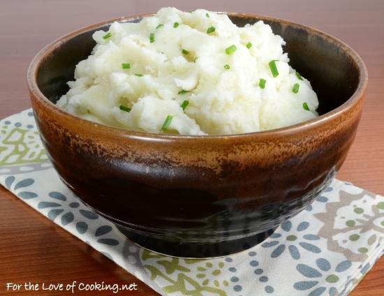 Garlic and Chive Mashed Potatoes
