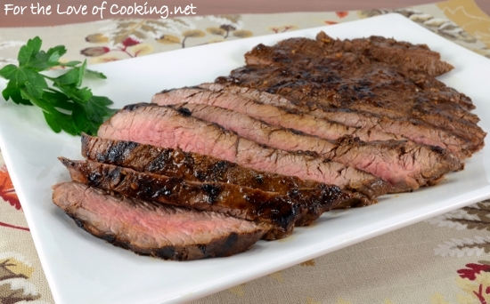 Balsamic and Dijon Marinated Flank Steak