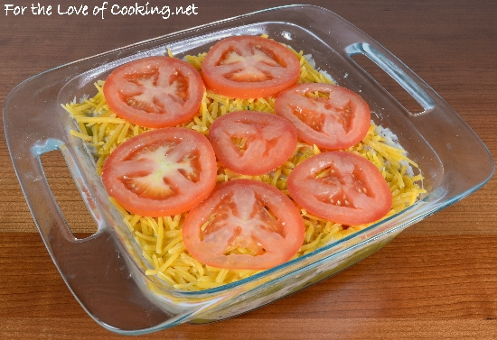 Layered Mexican Casserole With Chicken, Green Chiles, Pinto Beans, And ...